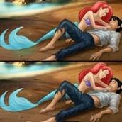 Головоломки с русалочкой Ариэль