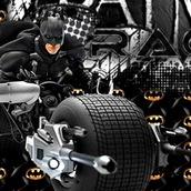 Бэтмен на байке