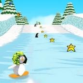 Игра Пингвины на скейтах