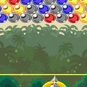 Игра Бросать шарики на острове