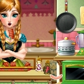 Игра Обед для принцессы Анны
