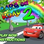 Игра Молния Маквин на дорогах