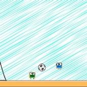Игра Матч квадратных футболистов