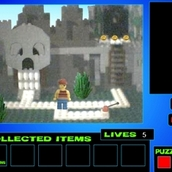 Лего пират охотится за сокровищами