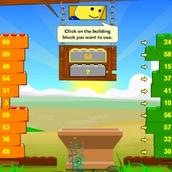 Игра Строительство башни в Лего Сити