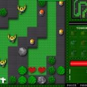 Игра Нападение зомби на Лего Сити