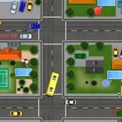 Игра Рейсовый автобус в Лего Сити
