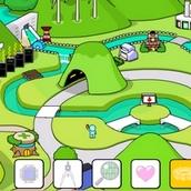 Игра Конструируем город в долине