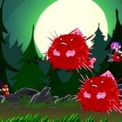 Игра Погоня за монстром в стиле Сабвей Серф