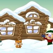 Игра Новогодние стрелковые игры Санта Клауса