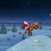 Игра Новогоднее катание Деда Мороза