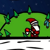 Игра Новогодняя зашита Северного полюса