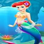 Игра Принцесса Ариэль готовится к вечеринке