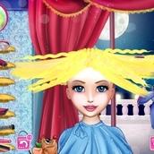 Причёска принцессы Золушки