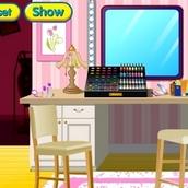 Игра Папины дочки оборудуют домашний салон красоты