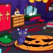 Игра Переделка комнаты на Хэллоуин