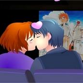 Игра Поцелуй в кинотеатре