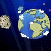 Игра Защитник от астероида