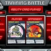 Игра Бакуган: тренировочные битвы