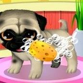 Игра Мыть животных