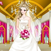 Свадебная одевалка для девочек
