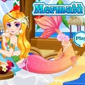 Игра Одевалка русалки для девочек
