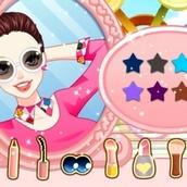 Игра Делать макияж для девочек