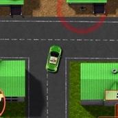Игра Ездить на машинах по городу