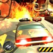 Игра Гонки 5: пушки на машинах