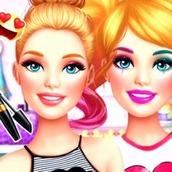 Игра Барби: макияж и одевалка для девочек