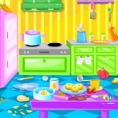 Игра Уборка в доме Барби