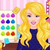 Игра Барби: парикмахерская для девочек