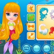Игра Русалочка Барби 2 для девочек