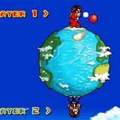 Игра Супер бойцы на земном шаре