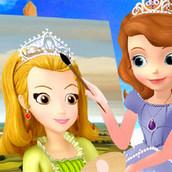 Игра Принцесса София-художница
