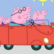 Автомобильное путешествие свинки Пеппы
