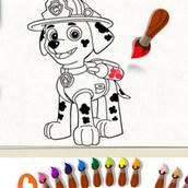 Игра Щенячий патруль: Рисовалка