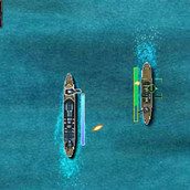 Игра Корабли в море