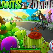 Игра Цветы против зомби