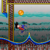 Игра Велогонка Гоку по американским горкам