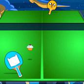 Игра Время приключений: пинг-понг с Финном и Джейком