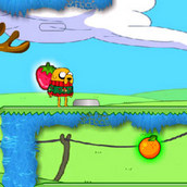 Игра Поход по фруктовому королевству