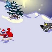 Игра Новогодняя гонка Санта Клауса