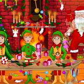 Санта Клаус разыскивает подарки