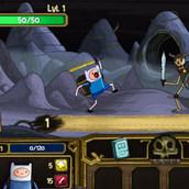 Игра Время приключений: сражения со скелетами