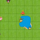 Игра Поймать Смешариков