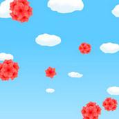 Игра Бараш собирает цветы