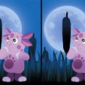 Игра Найти отличия: ночная прогулка