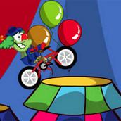 Игра Каскадерская гонка клоуна