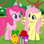 Игра Подарок на День Рождения для Радуги Дэш